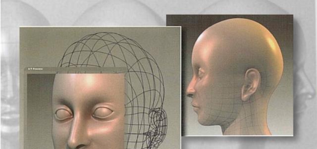 Assiste-se à criação de formas humanas realistas através da computação gráfica.