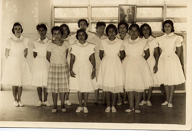 Primera generación de Enfermeras egresadas del IMSS