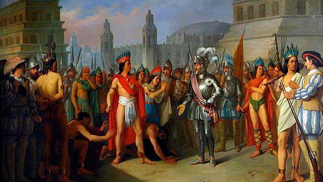 Época Colonial- Llegada de Hernán Cortés a México