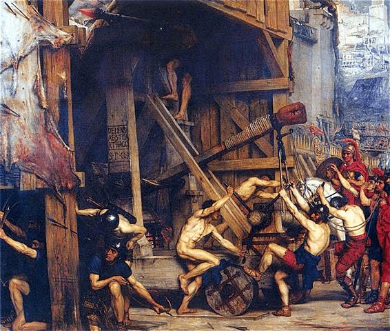 Saqueig a Atenes per l'exèrcit de Sila.