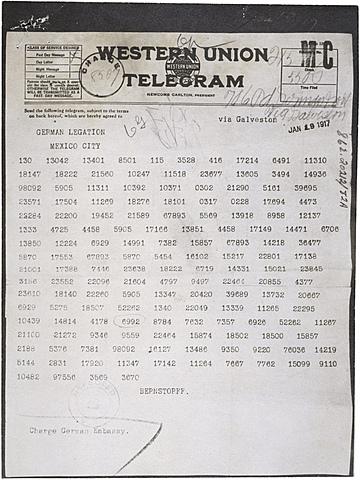 Telegrama Zimmermann