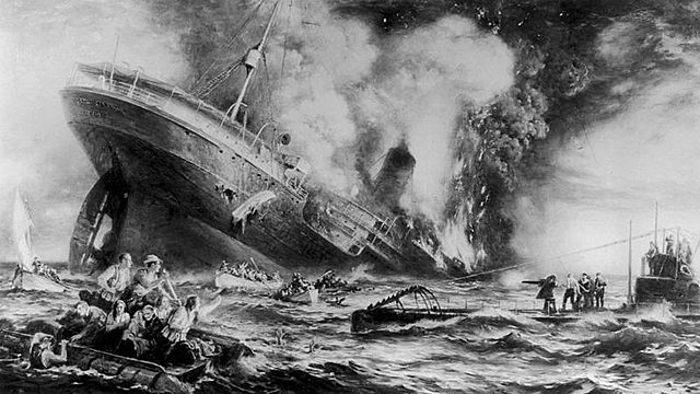 Estados Unidos entra en la Primera Guerra Mundial