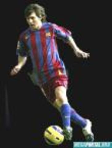 LIONEL MESSI 2007-2008 SEASON