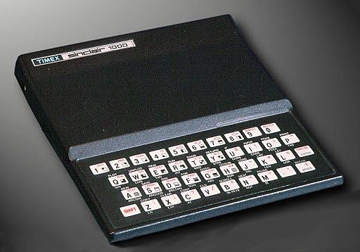 Tercera generación de ordenadores: El Sinclair ZX81/ZX Spectrum