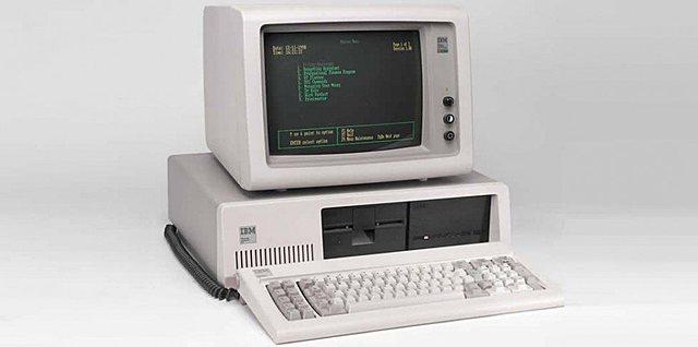 Cuarta generación de ordenadores: 1980-PC XT