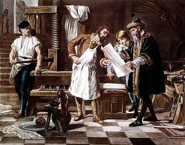 Creación de la Imprenta.