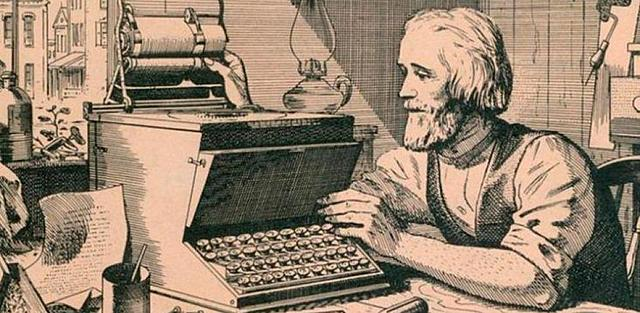 Creación de la máquina de escribir por Remington