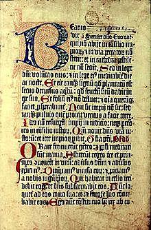 "Primer libro impreso con pie de imprenta llamado ""Mainz Psalter"" o ""Salterio de Maguncia"""