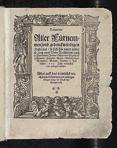 Primer periódico en Europa
