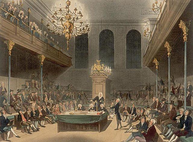 Disolución del parlamento