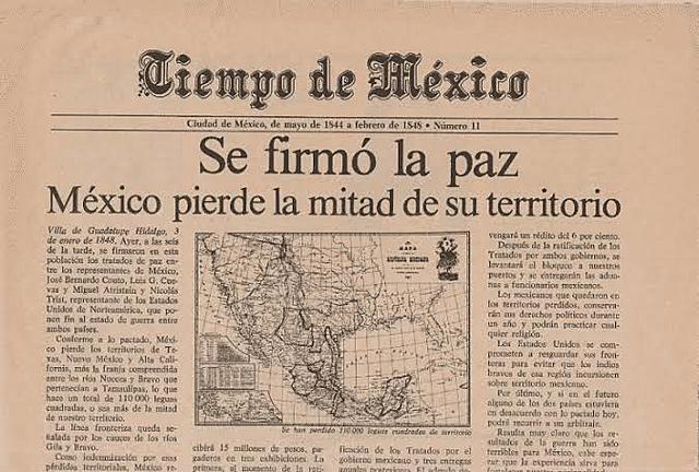 Tratado de Guadalupe Hidalgo(Fin de la Guerra con EEUU Y perdida Territorial)