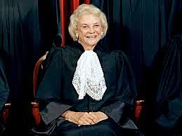 1st Woman to sit on the Supreme Court