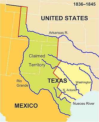 Guerra de anexión de Texas