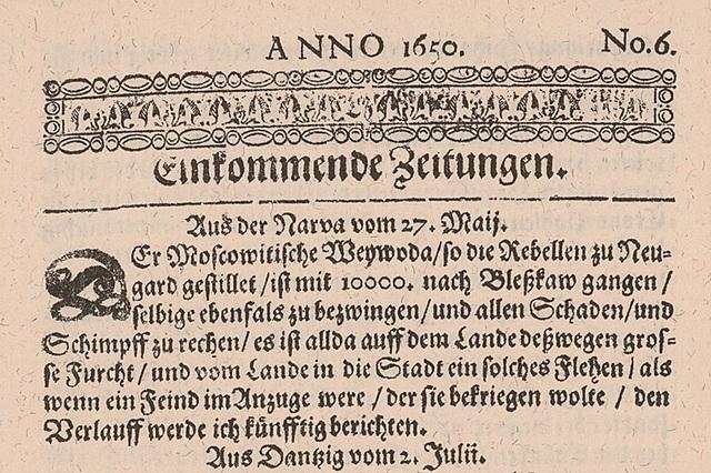 El primer diario de Alemania.