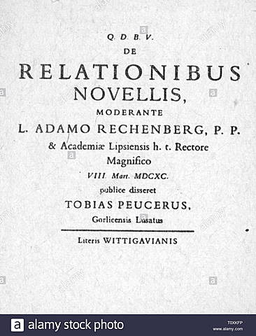 La primera tesis doctoral sobre la prensa.