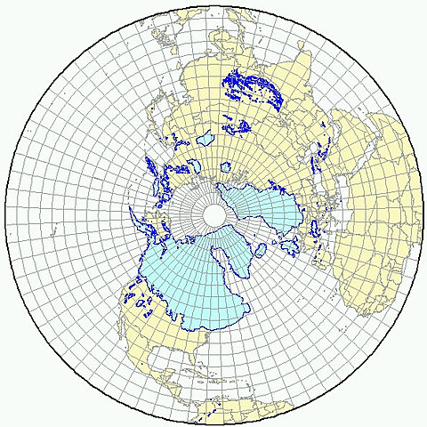 Glaciation in the Northern Hemisphere