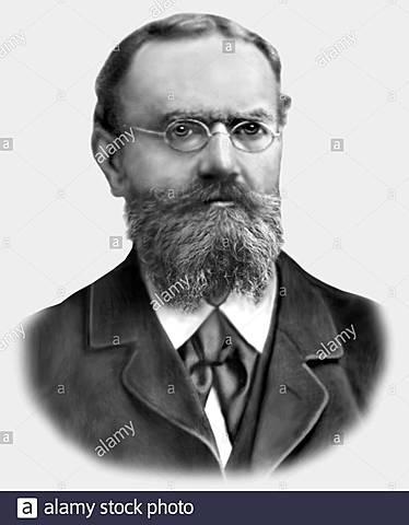 Alemán Ernst Schröder (1841-1902)