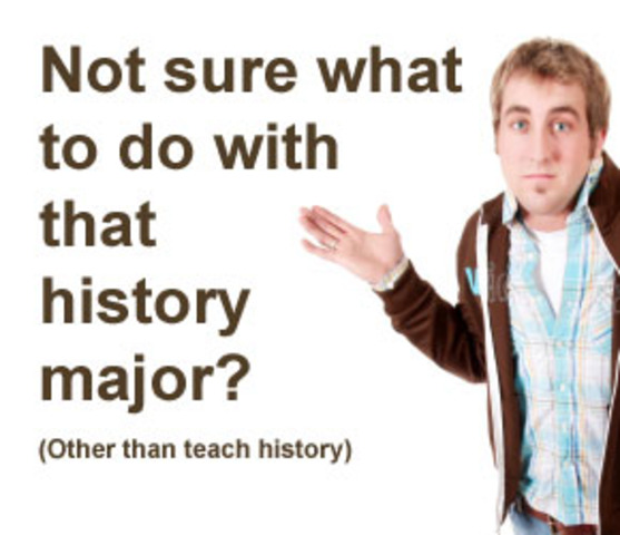 Changed Major to History