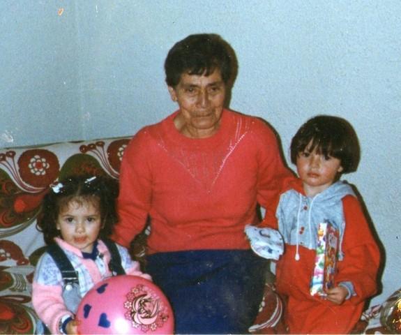 mi abuela muere