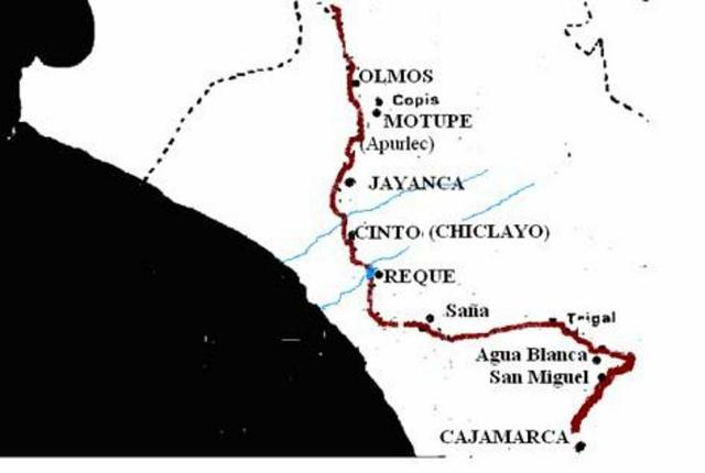 Pizarro ingresa a territorio lambayecano
