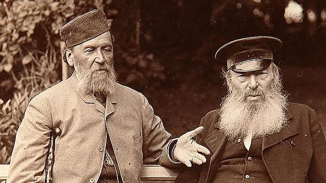 Знакомство с Л. Толстым
