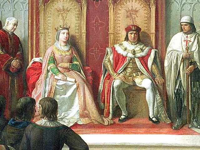 Ferdinand of Aragon and Isabella of Castile Unify Catholic Spain
