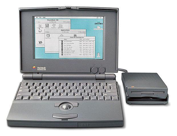 PowerBook 100, 1991