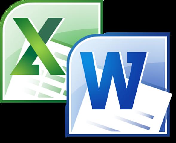 Creación de Word y Excel, entre otras.