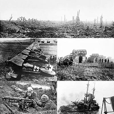 מלחמת העולם הראשונה timeline