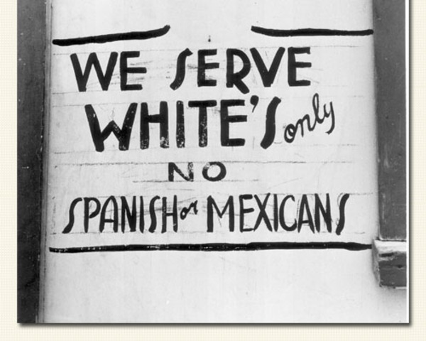 """Mexican Americans """"Not White"""""""