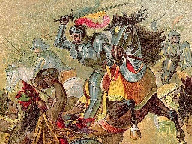Cortez Conquers the Aztecs