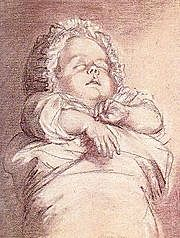 Death of youngest daughter, Sophie of France