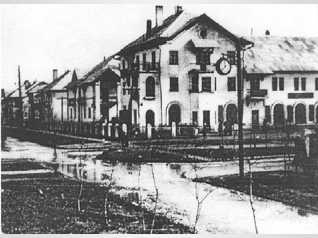 Первые строительные площадки