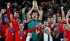 España gana el mundial