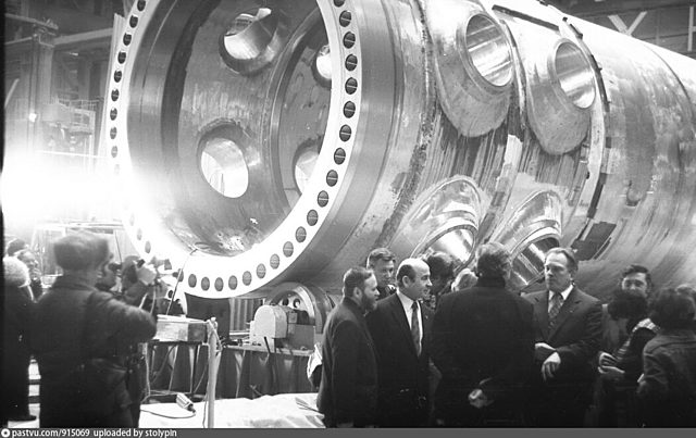 Выпуск первого донского атомного реактора