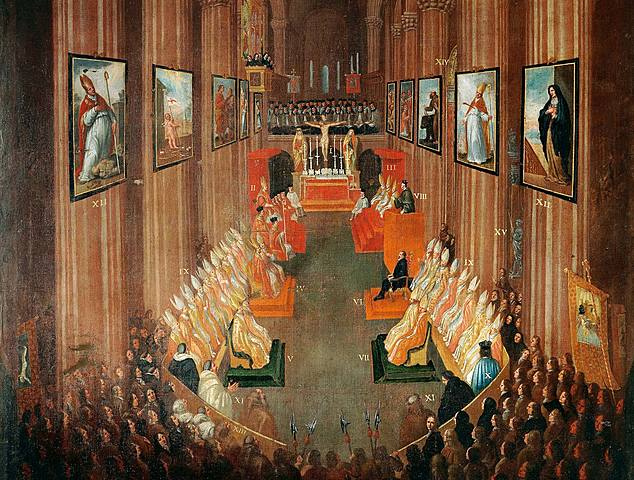 Beginning of the Council of Trent