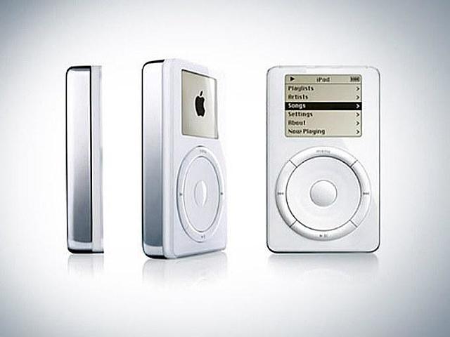 Ipod, 2001