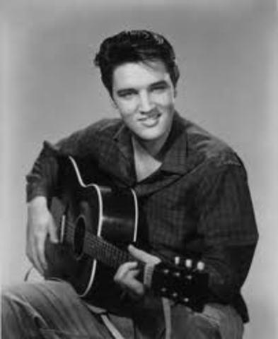 The birth of Elvis Presley