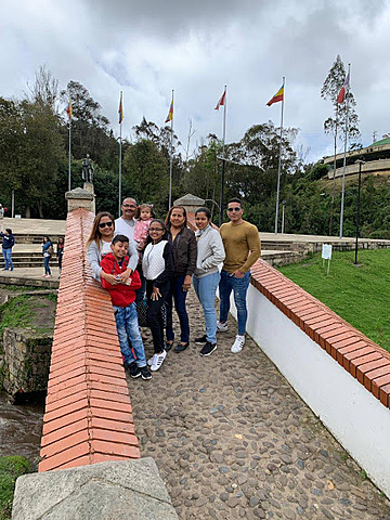 vacations in Boyacá with my family