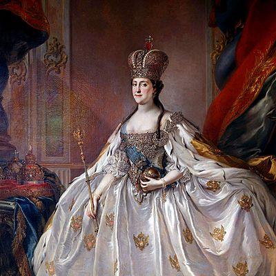 Catalina II of Russia timeline
