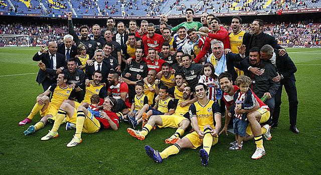 El Átletico de Madrid gana la LaLiga