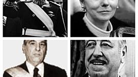 PRESIDENCIAS DE CAMPORA, LASTIRI, JUAN PERÓN Y ESTELA DE PERÓN. timeline