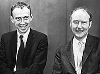 Francis Crick and James Watson