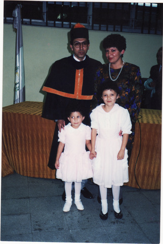 La graduación de mi papá