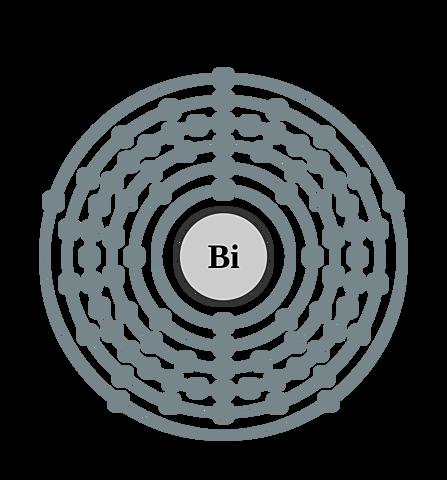 Estructura atómica Bismuto