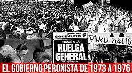 GOBIERNO PERONISTA 1973-1976 (CÁMPORA-LASTIRI-JUAN PERÓN-ESTELA DE PERÓN) timeline