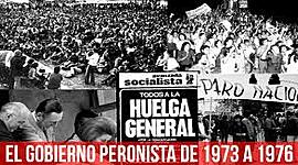 Presidencias peronistas 1973-1976 timeline