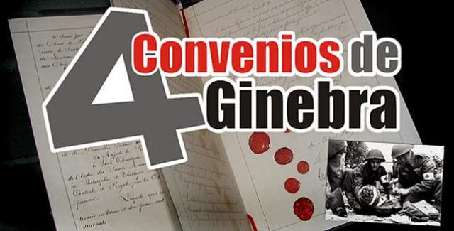 CONVENCION  DE GINEBRA