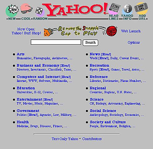Creación de Yahoo