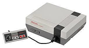 Nintendo NES  (Nintendo Entertainment System).